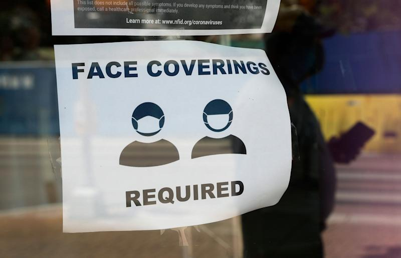 Texas Gov. Greg Abbott has declared masks or face coverings must be worn in public across most of the state as local officials say hospitals are in danger of becoming overrun as cases of the coronavirus surge. (Photo: ASSOCIATED PRESS)
