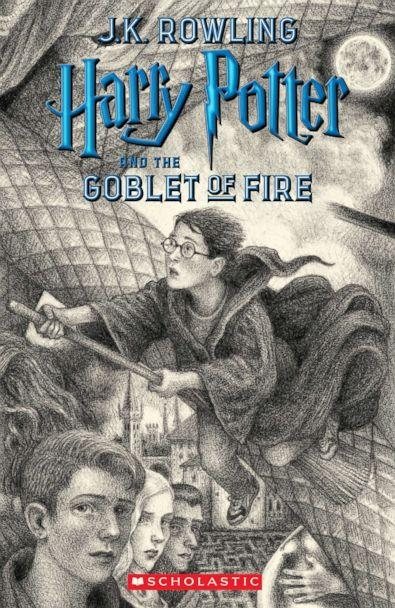 PHOTO: Scholastic's new book cover for 'Harry Potter and the Goblet of Fire,' featuring art by Brian Selznick, is pictured here. (Brian Selznick (c) 2018 by Scholastic Inc.)
