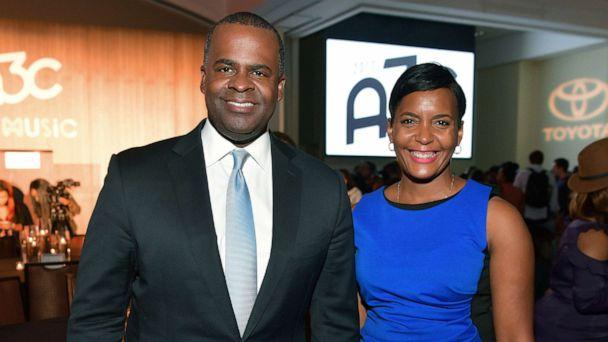 PHOTO: Kasim Reed and Keisha Lance Bottoms attend A3C Welcome To Atlanta Reception, Oct. 4, 2017, in Atlanta. (Prince Williams/WireImage via Getty Images )