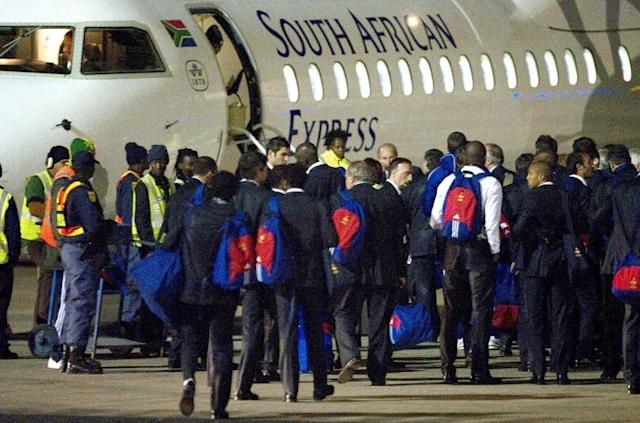 World Cup stunning moments: France implode in South Africa