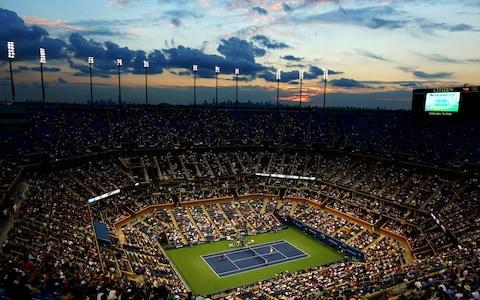<span>The Arthur Ashe stadium at the US Open</span> <span>Credit: Getty Images </span>