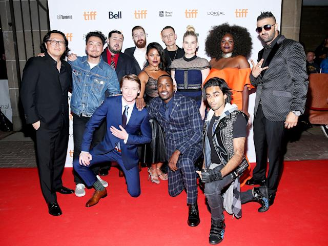 "<p>Cast and crew of <a href=""http://variety.com/2017/film/reviews/toronto-film-review-bodied-1202551693/"" rel=""nofollow noopener"" target=""_blank"" data-ylk=""slk:Bodied"" class=""link rapid-noclick-resp""><i>Bodied</i></a> at the <a href=""https://www.yahoo.com/movies/tagged/toronto-film-festival"" data-ylk=""slk:2017 Toronto International Film Festival"" class=""link rapid-noclick-resp"">2017 Toronto International Film Festival</a>, on Sept. 7 (Photo: Phillip Faraone/Getty Images) </p>"