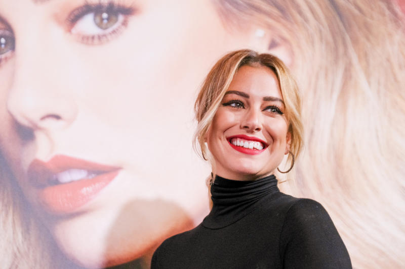 Actress Blanca Suarez presents 'RougeGby Blanca Suarez' at Santo Mauro Hotel on October 09, 2019 in Madrid, Spain. (Photo by Oscar Gonzalez/NurPhoto via Getty Images)