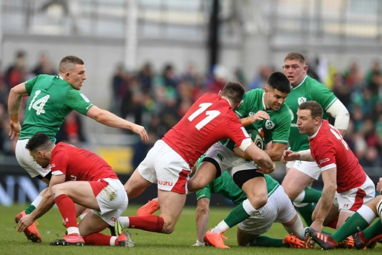 Conor Murray is safe as Ireland's first choice number one scrum-half after what captain Johnny Sexton described as an outstanding performance (AFP Photo/DANIEL LEAL-OLIVAS)
