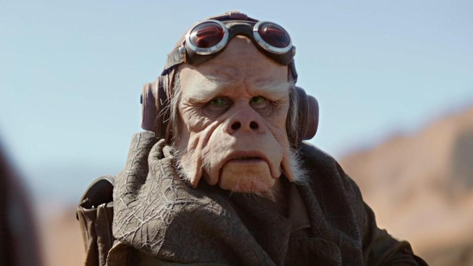 <p> <strong>Episode 2</strong> </p> <p> It doesn't happen often, but actors can double up on Star Wars roles. Not often as close as this, mind. Misty Rosas played the grumpy ugnaught, Kuiil (which was voiced by Nick Nolte). In season 2, she plays the Frog Lady who has to be escorted across the galaxy and will hopefully lead Mando into the path of some other Mandalorians in future. </p>