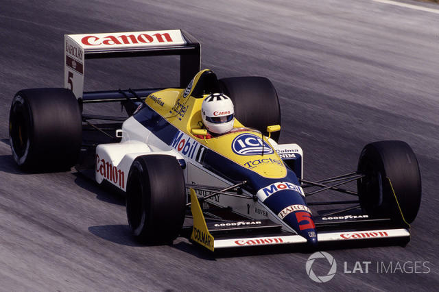 "1988: Williams-Judd FW12 <span class=""copyright"">LAT Images</span>"