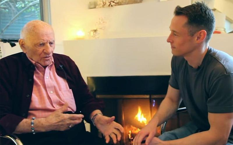 Ronald Blank tells YouTube video creator Davey Wavey his story - YouTube