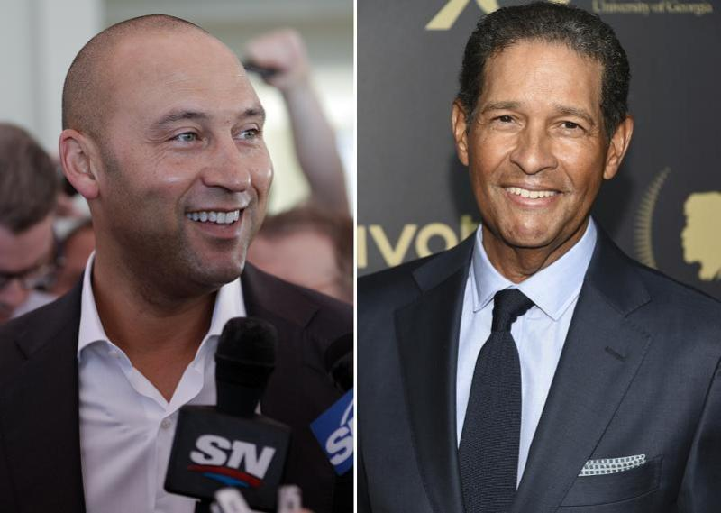 Derek Jeter's reportedly tense interview with HBO's Bryant Gumbel could be a new low point during his tumultuous six-month tenure as Miami Marlins minority owner. (AP Photos)