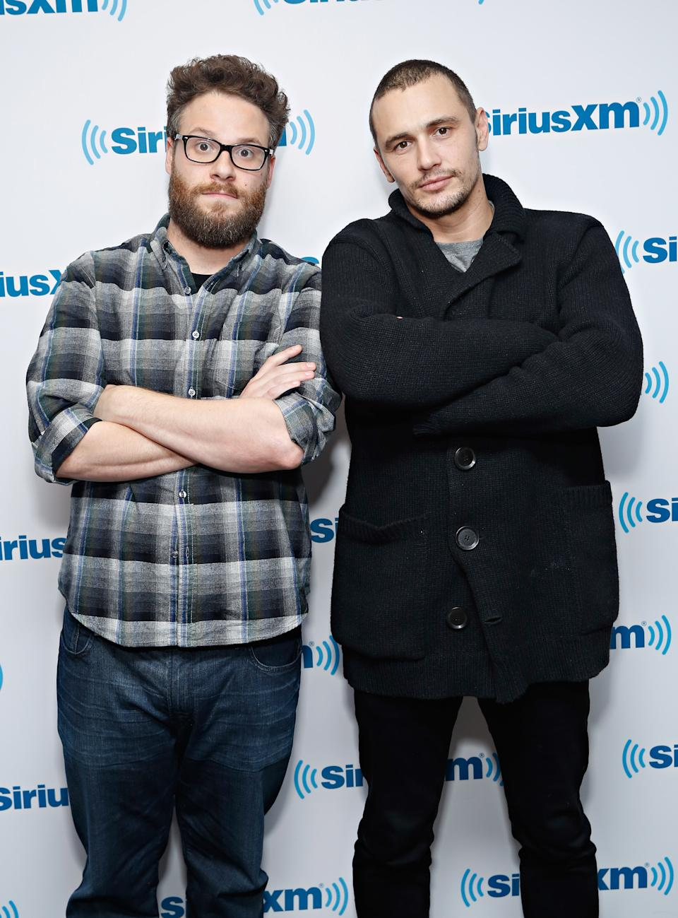 Seth Rogen said the dynamic of his relationship with James Franco had changed. (Photo by Cindy Ord/Getty Images for SiriusXM)