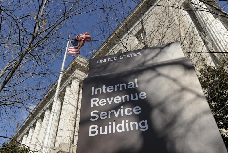 FILE - This March 22, 2013 file photo shows the exterior of the Internal Revenue Service building in Washington. The Internal Revenue Service is about to pay $70 million in employee bonuses despite an Obama administration directive to cancel discretionary bonuses because of automatic spending cuts enacted this year, according to a GOP senator. (AP Photo/Susan Walsh, File)