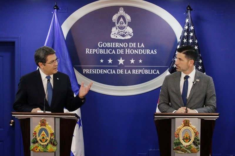 U.S. to send police to Honduras to provide support in immigration control