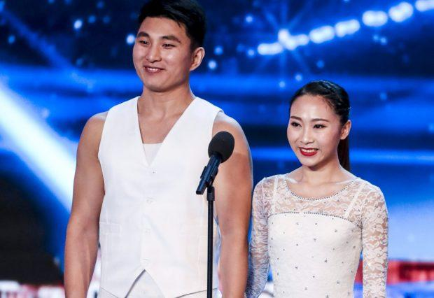 Chinese acrobats on pointe in Britain's Got Talent