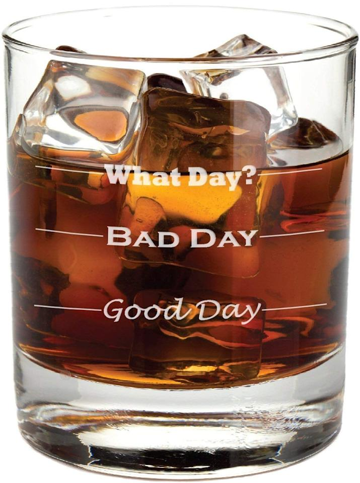 "<p>This <a href=""https://www.popsugar.com/buy/Good-Day-Bad-Day-Glass-502388?p_name=Good%20Day%2C%20Bad%20Day%20Glass&retailer=amazon.com&pid=502388&price=16&evar1=savvy%3Aus&evar9=45487565&evar98=https%3A%2F%2Fwww.popsugar.com%2Fsmart-living%2Fphoto-gallery%2F45487565%2Fimage%2F46768144%2FGood-Day-Bad-Day-Glass&list1=shopping%2Cgifts%2Choliday%2Cgift%20guide%2Cgifts%20under%20%2425%2Cgifts%20under%20%24100%2Cgifts%20under%20%2450%2Cgifts%20under%20%2475&prop13=mobile&pdata=1"" rel=""nofollow"" data-shoppable-link=""1"" target=""_blank"" class=""ga-track"" data-ga-category=""Related"" data-ga-label=""https://www.amazon.com/Good-Day-Bad-Permanently-Co-Worker/dp/B01I7F27BY/ref=sr_1_17_sspa?keywords=gifts+for+men+under+%2450&amp;qid=1571181007&amp;sr=8-17-spons&amp;psc=1&amp;spLa=ZW5jcnlwdGVkUXVhbGlmaWVyPUE0Uk9FM1g3Sk5DVDcmZW5jcnlwdGVkSWQ9QTA3MTUwMDY0MldCQlIzQzBSQkcmZW5jcnlwdGVkQWRJZD1BMDU2ODM3NUdVN1VBTEszOUYyRiZ3aWRnZXROYW1lPXNwX210ZiZhY3Rpb249Y2xpY2tSZWRpcmVjdCZkb05vdExvZ0NsaWNrPXRydWU="" data-ga-action=""In-Line Links"">Good Day, Bad Day Glass</a> ($16) is too funny.</p>"