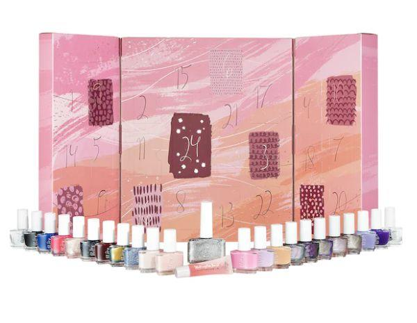 """Get this <a href=""""https://fave.co/3jyQErX"""" target=""""_blank"""" rel=""""noopener noreferrer"""">Ciaté London Mini Mani Month Nail Polish Advent Calendar on sale</a> (normally $65) during Sephora's Holiday Savings Eventwith code<strong>HOLIDAYFUN</strong>at checkout."""
