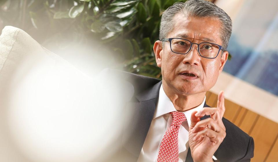 Financial Secretary Paul Chan says Hong Kong can cooperate with mainland cities in areas such as medicine and artificial intelligence. Photo: Nora Tam