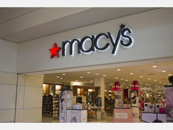Macy's says it'll have all 775 stores open in six weeks. The company will begin with 68 locations in Georgia and South Carolina on Monday.