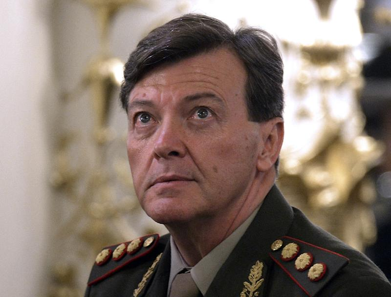 Cesar Milani was commander of Argentina's armed forces from 2013 to 2015