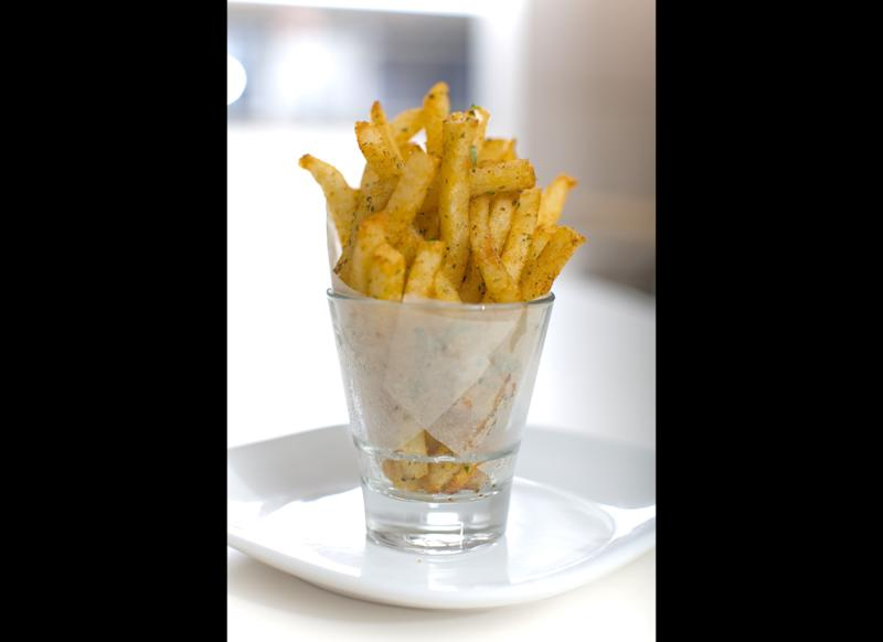 "Top Chef All-Stars winner Richard Blais cooks his savory fries in tallow—rendered beef fat— at <a href=""http://www.gogobot.com/flip-burger-boutique-birmingham-restaurant"" target=""_hplink"">Flip Burger Boutique</a>. The results are worth the extra calories."