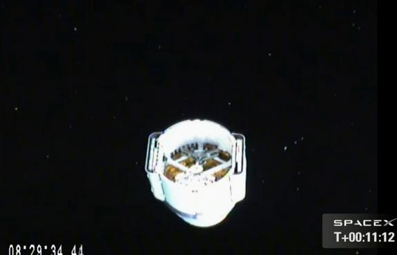 SpaceX Dragon Capsule Cleared for Space Station Docking Sunday