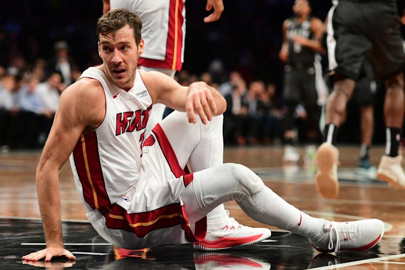 1250a8c577f Miami Heat point guard Goran Dragic could be sidelined until after the All-Star  break. (Getty Images)