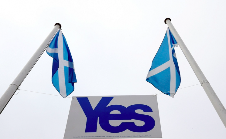 Scotland voted not to break up from the UK in 2014 (Rex)