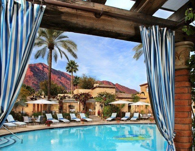 """<p>If you're looking for a health and wellness trip, make sure to check out the <a href=""""https://www.hyatt.com/en-US/hotel/arizona/royal-palms-resort-and-spa/phxub"""" rel=""""nofollow noopener"""" target=""""_blank"""" data-ylk=""""slk:The Royal Palms Resort and Spa in the Unbound Collection by Hyatt"""" class=""""link rapid-noclick-resp"""">The Royal Palms Resort and Spa in the Unbound Collection by Hyatt</a>, located in Phoenix. Take a dip in the pool or treat yourself to the <a href=""""https://www.royalpalmshotel.com/well-being/"""" rel=""""nofollow noopener"""" target=""""_blank"""" data-ylk=""""slk:Citrus Ritual"""" class=""""link rapid-noclick-resp"""">Citrus Ritual</a> (an al fresco, full-body exfoliation treatment) with breathtaking red-tinged hills and palm trees as the backdrop. This hotel is centrally located and perfect for a quick weekend that is all about you.<br></p>"""