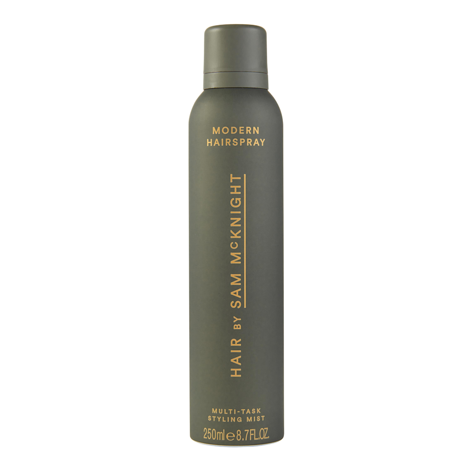 "<p>The multitasking Modern Hairspray is one of our favorites from <a href=""https://www.allure.com/story/hair-by-sam-mcknight-debuts-at-milan-fashion-week?mbid=synd_yahoo_rss"" rel=""nofollow noopener"" target=""_blank"" data-ylk=""slk:Sam McKnight's eponymous line"" class=""link rapid-noclick-resp"">Sam McKnight's eponymous line</a> (the stylist who's done the hair of people like Princess Diana and Lady Gaga, NBD). Spray it on before heat styling to help set smooth or curly styles, work it into your roots for volume, or spritz it throughout your hair for added texture and hold.</p> <p><strong>$32</strong> (<a href=""https://shop-links.co/1650757813621662787"" rel=""nofollow noopener"" target=""_blank"" data-ylk=""slk:Shop Now"" class=""link rapid-noclick-resp"">Shop Now</a>)</p>"