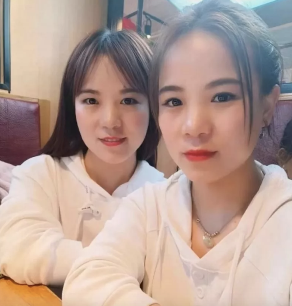 The women met in person after a chance TikTok encounter. Source: Cheng Keke/Douyin