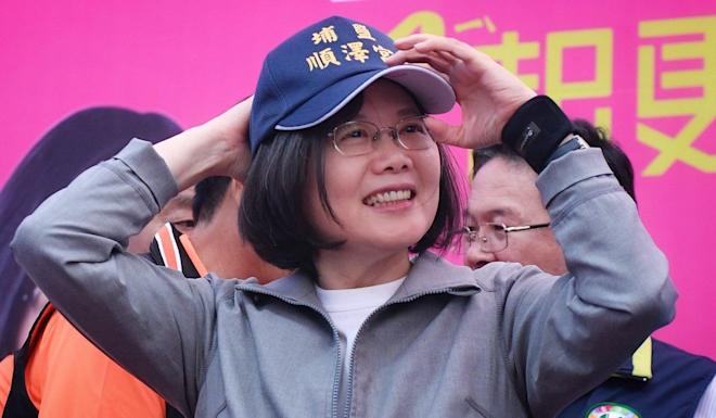 Taiwan's President Tsai Ing-wen is seeking a second term on the strength of her stance against Beijing. Photo: Facebook