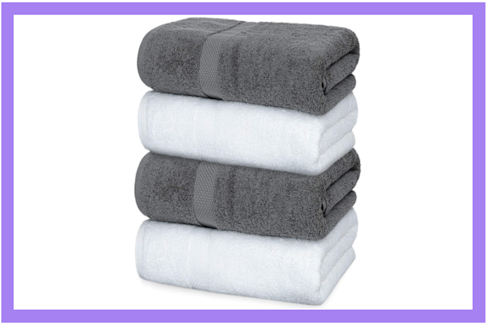 Upgrade your towels — and save $5 in the process. (Photo: Amazon)