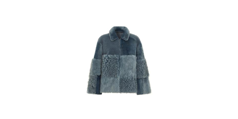 best winter coats: Whistles Hema Shearling Coat