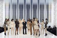 <p>It may have just been the largest fashion show in all of history, with thousands of guests. Balmain opened its hybrid show-concert to the public, who came to watch live performances including Doja Cat, Franz Ferdinand, and more. Beyoncé opened up the show with a heartwarming pre-recorded speech that touched on inclusivity in the industry and Olivier Rousteing's ten-year anniversary at the brand. When iconic figures Naomi Campbell and Carla Bruni took their turns on the runway both industry insiders and fans who came from all over went wild.</p>