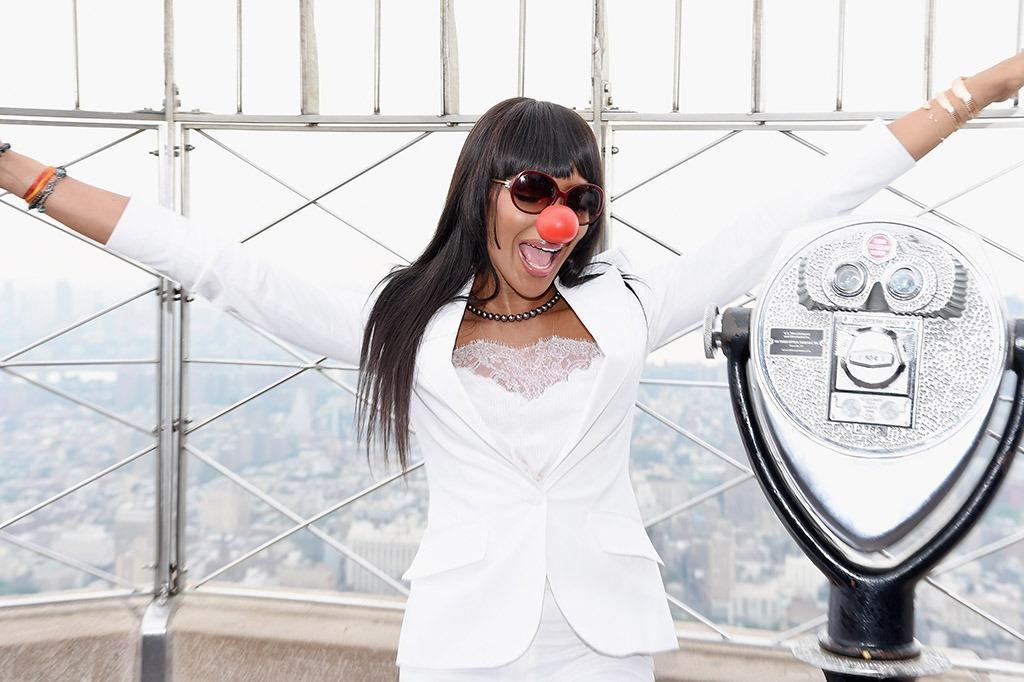 "<p>Naomi Campbell was there to flip the switch as the Empire State Building turned red for <a href=""http://rednoseday.org/?scroll-to=join-nation"" target=""_blank"">Red Nose Day</a> on Thursday, May 26. The supermodel is one of many celebs putting on red noses in an effort to lift kids out of poverty. <i>(Photo: Dave Kotinsky/Getty Images for Red Nose Day)</i> </p>"