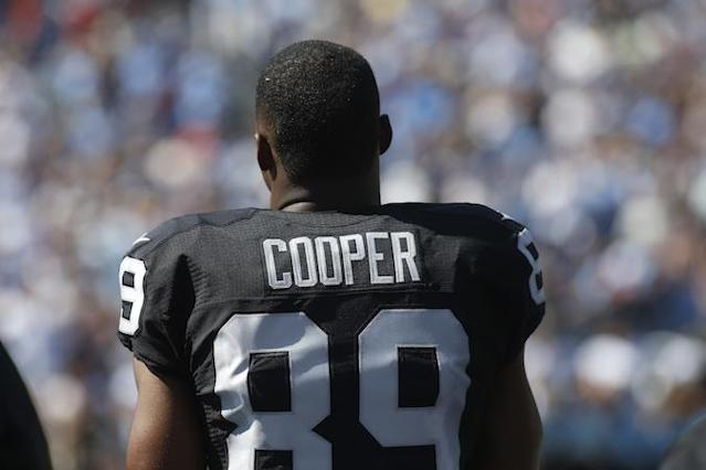 "Will <a class=""link rapid-noclick-resp"" href=""/nfl/players/28392/"" data-ylk=""slk:Amari Cooper"">Amari Cooper</a> eclipse <a class=""link rapid-noclick-resp"" href=""/nfl/players/9274/"" data-ylk=""slk:Michael Crabtree"">Michael Crabtree</a> in 2017? Yahoo Fanalyst Liz Loza isn't so sure."