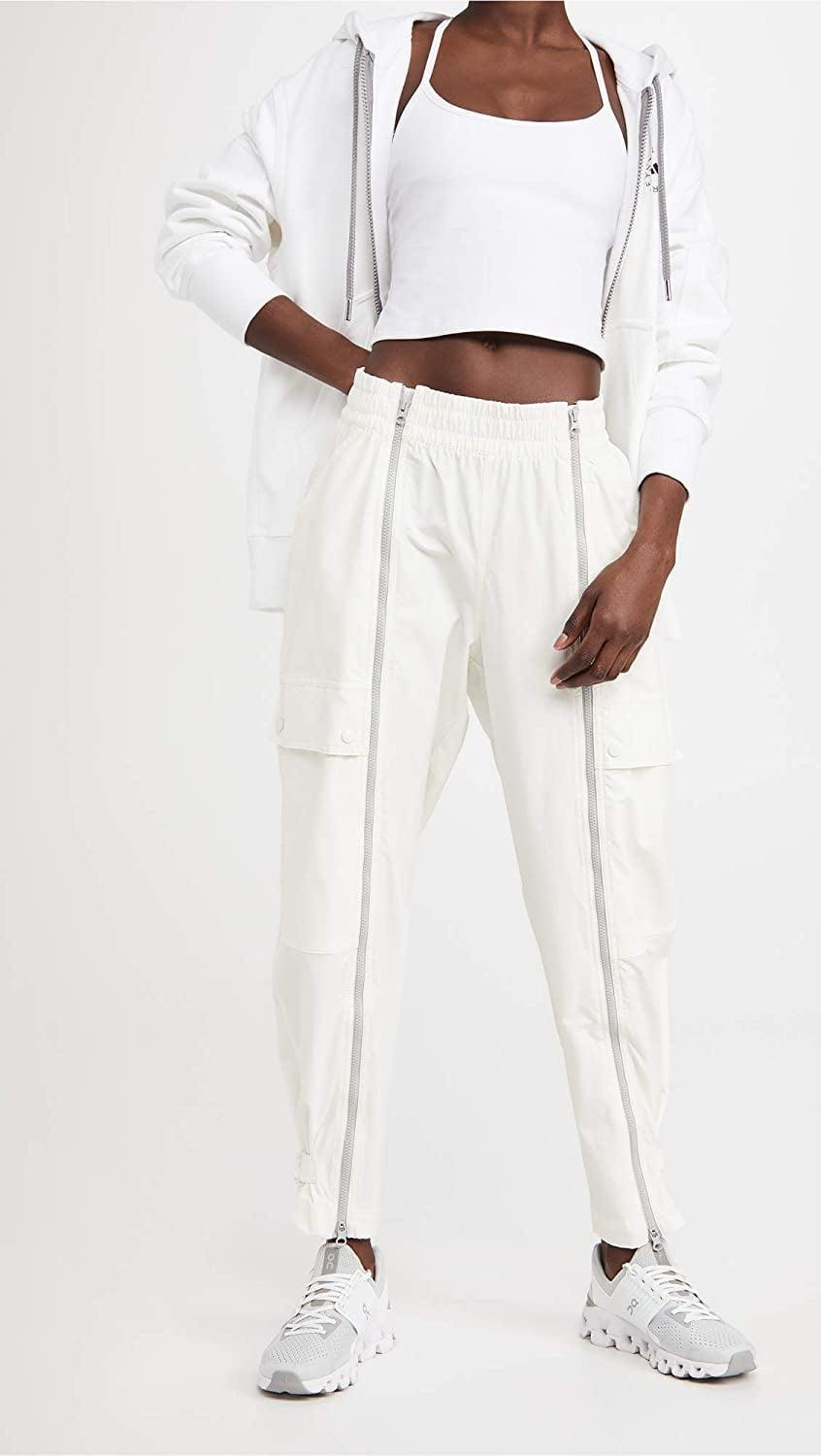 <p>These <span>adidas by Stella McCartney Perf White Sweatpants</span> ($160) are so cool.</p>