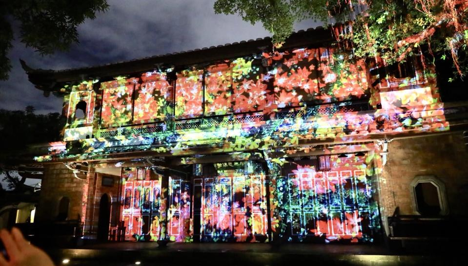 <p>板橋「林家花園」將從12日起上演夜間光雕秀。|The Lin Family Mansion and Garden will feature lighting shows from Dec. 12. (Cultural Affairs Bureau, New Taipei City.)</p>