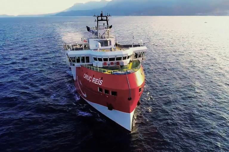 Tensions between Greece and Turkey were stoked in August when Ankara sent the seismic research vessel 'Oruc Reis', accompanied by Turkish naval ships ships, into waters off the Greek island of Kastellorizo in the eastern Mediterranean