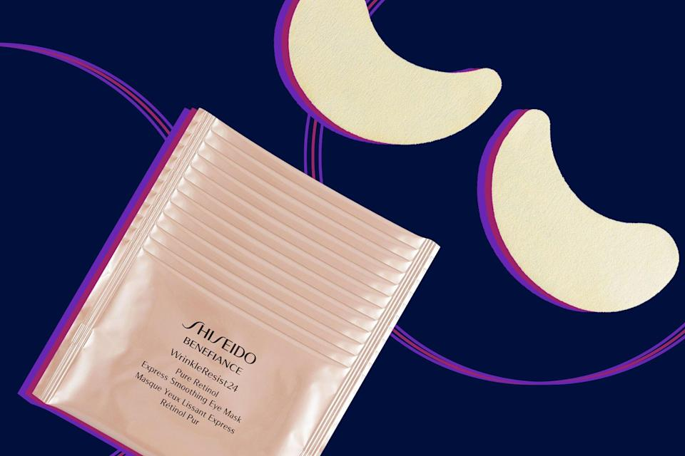"""Shoppers Say This Retinol Infused Eye Mask Is Like """"Getting An Eye Lift"""""""