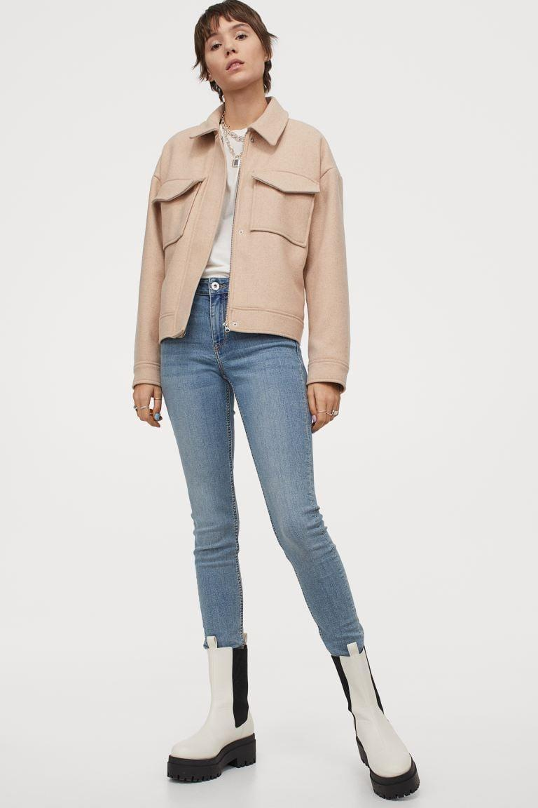 <p>Super skinny and super stretchy, this pair of <span>H&amp;M Super Skinny Regular Jeans</span> ($20) is capable of converting the most skeptical Gen Zer.</p>