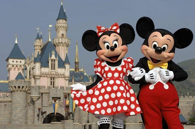 UFC fighter Cindy Dandois said her idol is Walt Disney and she loves the characters he created such as Minnie Mouse and Mickey Mouse. (Getty Images)