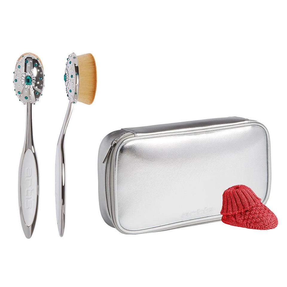 """<p>""""I'm completely mesmerized by these <span>Artis Crystal Brushes</span> ($200). Can you imagine these sitting on your vanity? So chic. You can never have too many makeup brushes in your collection, so this set should prove useful for any beauty-lover. (However, I feel like these crystal embellished beauties are almost too stunning to use.)"""" - JH</p>"""