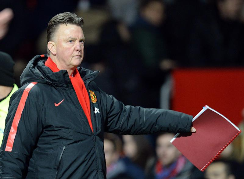 Manager Louis van Gaal is feeling the pressure as he strives to take Manchester United back to the top of the English game