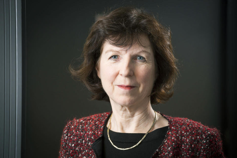 In this undated photo, psychologist Susan Michie poses for a photo. The British government insists that science is guiding its decisions as the country navigates its way through the coronavirus pandemic. But a self-appointed group of independent experts led by a former government chief adviser says it sees little evidence-based about Britain's response. Unlike other countries, the scientific opposition to Britain's approach is remarkably organized. The independent group sits almost in parallel to the government's own scientists, assesses the same outbreak indicators and has put out detailed reports on issues such contact tracing, reopening schools and pubs, and relaxing social distancing. (Photo provide by Susan Michie via AP