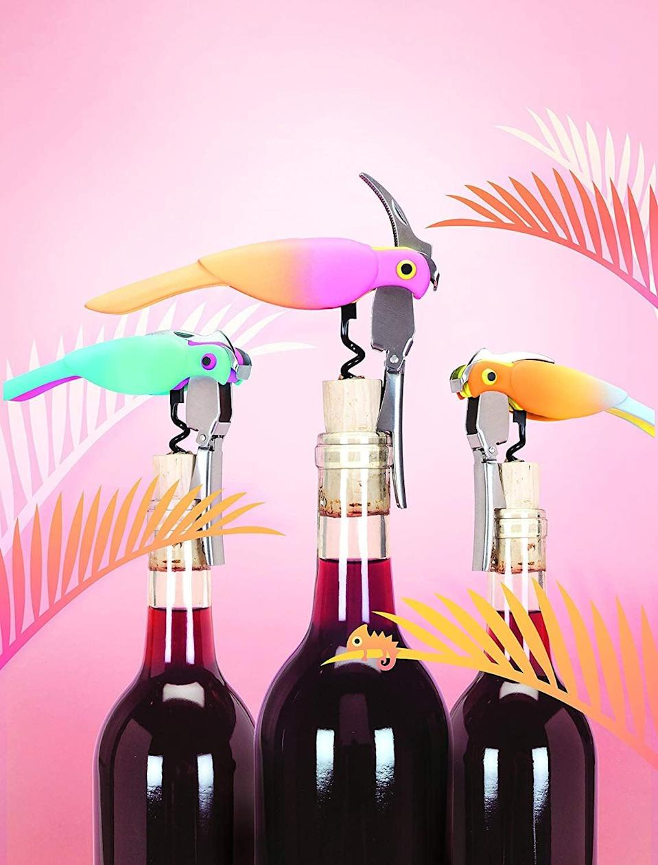 <p>These <span>True Zoo Corkatoo Corkscrews</span> ($16, originally $19) are cute and clever.</p>