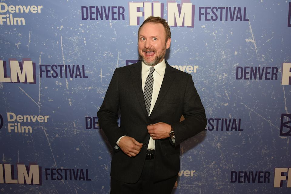 Rian Johnson, director of KNIVES OUT and recipient of the 2019 John Cassavetes Award, during the Denver Film Festival on October 31, 2019. (Photo by Thomas Cooper/Getty Images)