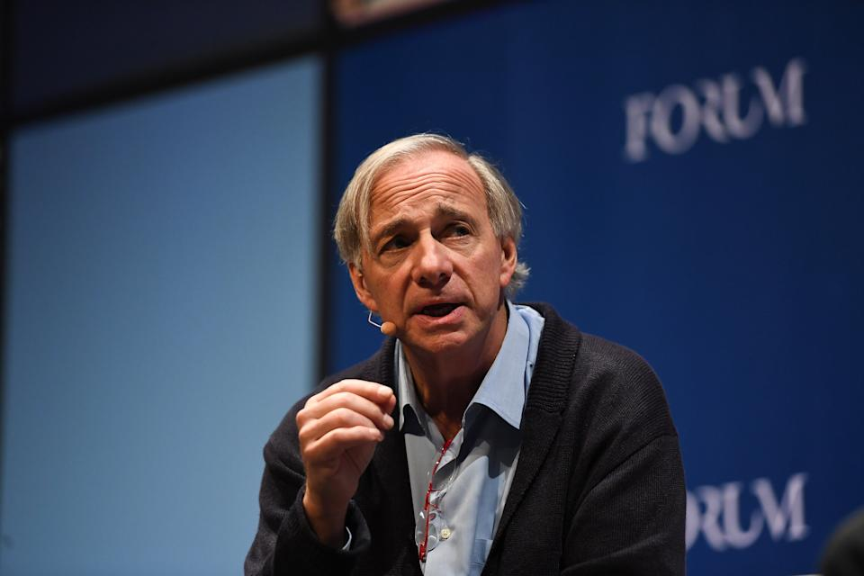 Ray Dalio, Founder, da Bridgewater Associates. (Foto: Eoin Noonan /Web Summit via Getty Images)