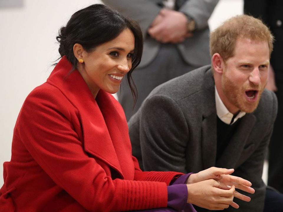 Harry and Meghan dance show
