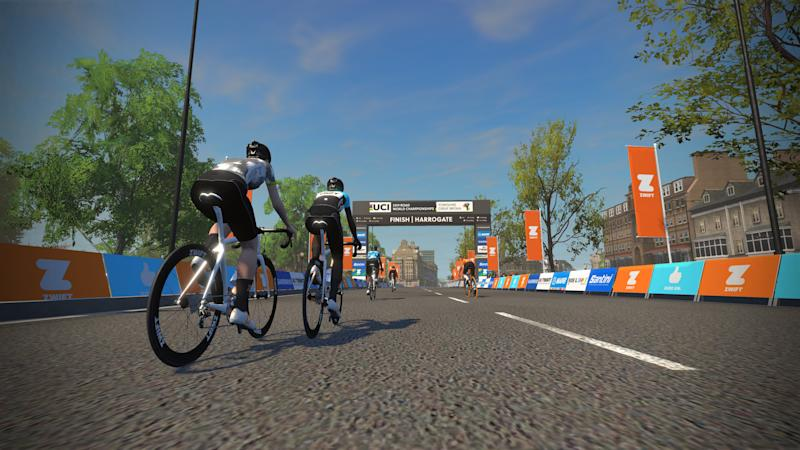 Zwift UCI Worlds Yorkshire Course