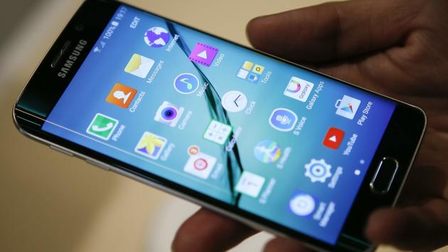 Samsung lifted the lid on its new Galaxy S6 (Sky News)