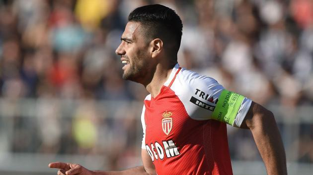 Ligue 1: Falcao goal earns battling win for leaders Monaco